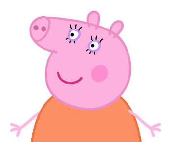 Mama Pig, mother of Peppa Pig